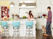 Kitchen Remodels With White Cabinets Rustic Design for Small Kitchen