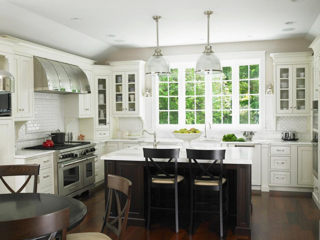 Kitchen Remodels With White Cabinets for Small Kitchen Designs
