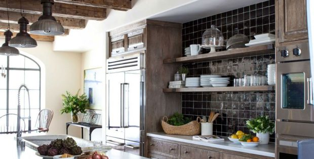 Older Home Kitchen Remodeling Ideas With Wood Beam Ceiling Roy