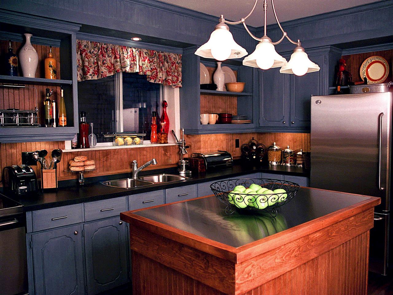Older Home Kitchen Remodeling Ideas with Wood Small Island