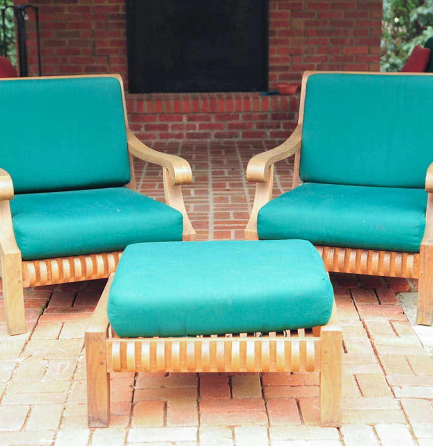 Smith Hawken Outdoor Furniture Coffee Table Replacement Cushions