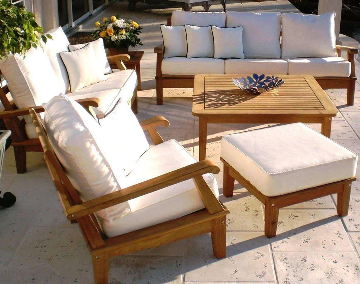Smith Hawken Outdoor Furniture Cushions