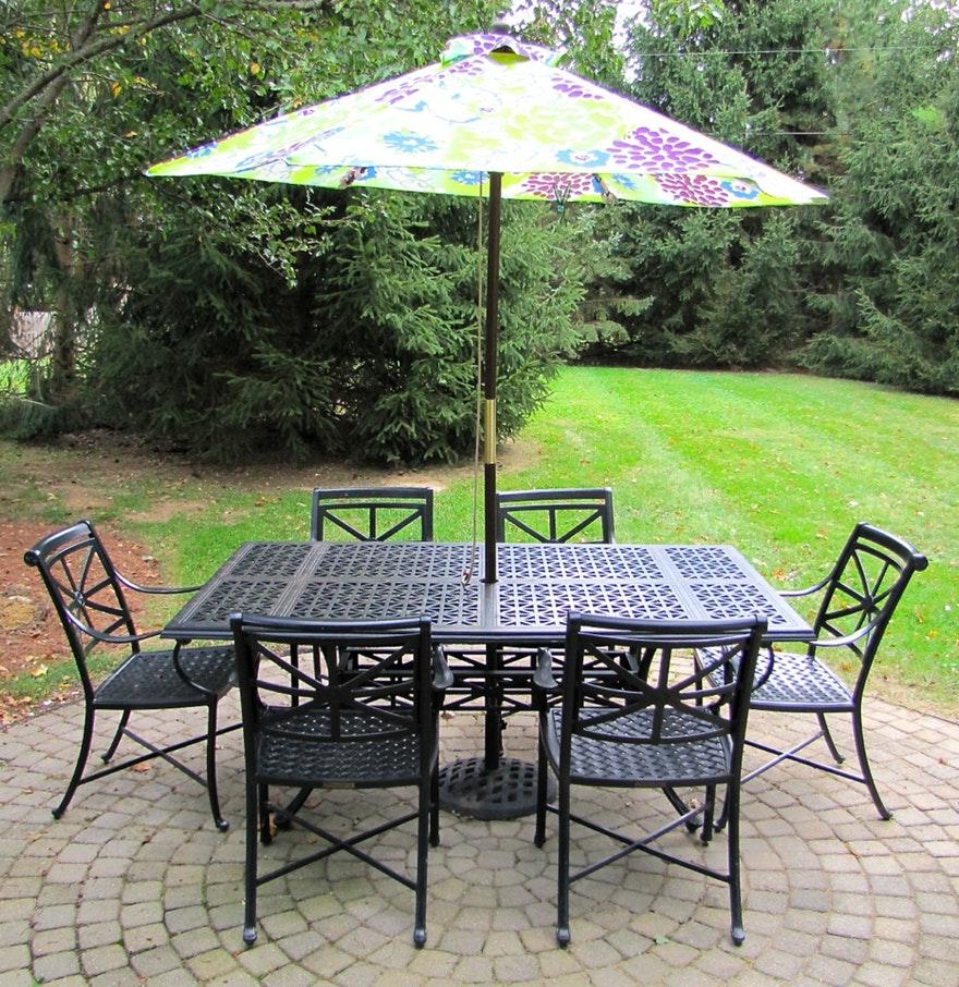 Smith Hawken Outdoor Furniture Metal Patio