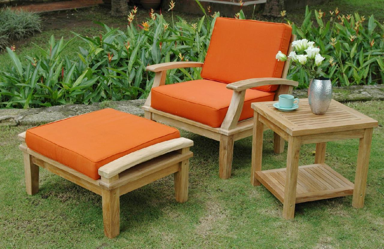Smith Hawken Outdoor Furniture Patio Replacement Cushions