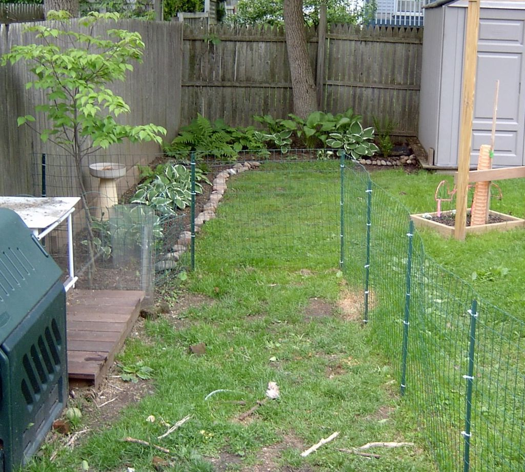 Temporary Dog Fence Ideas Bars