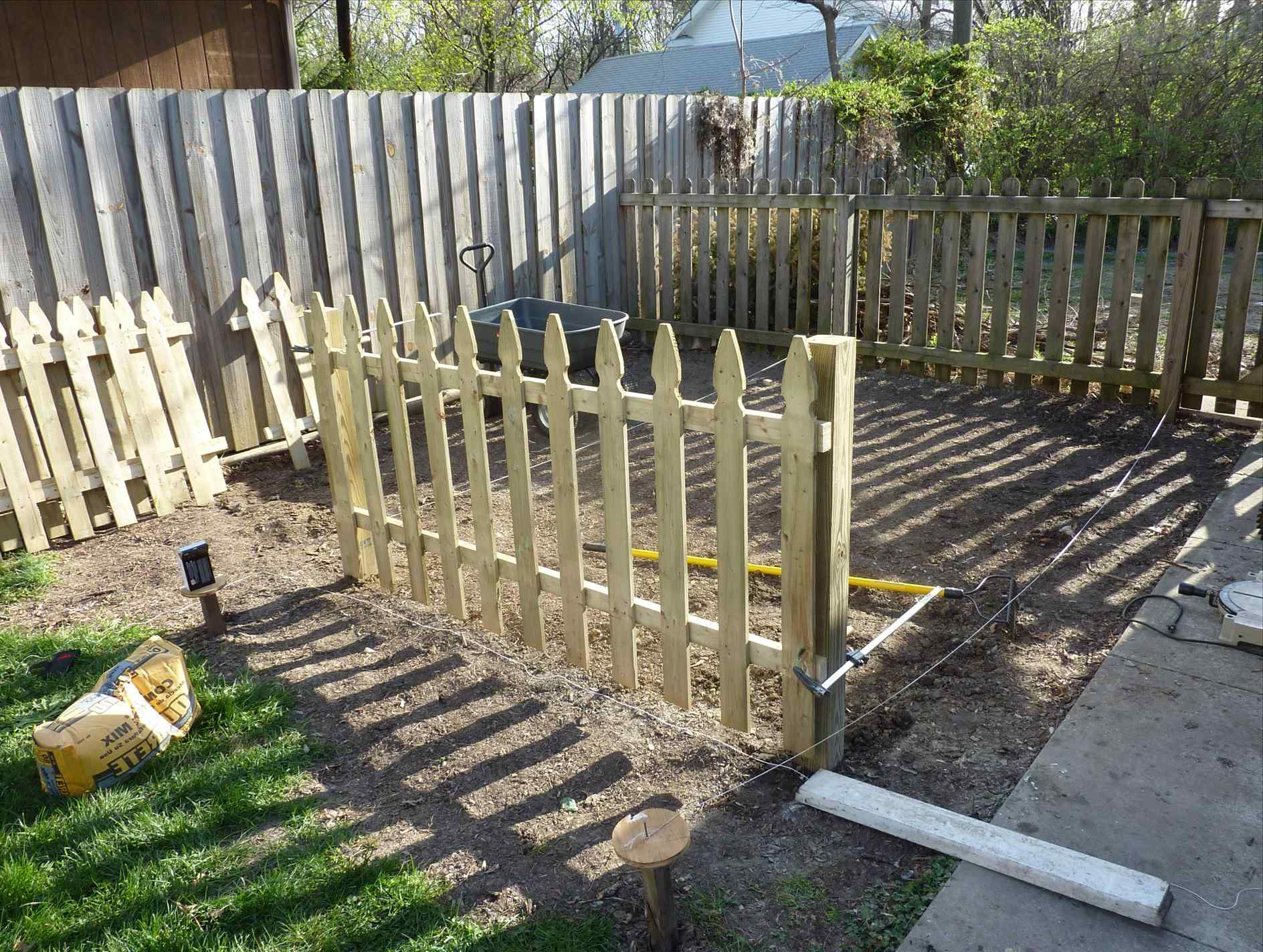 Temporary Dog Fence Ideas With 5 Type Easy Dog Fence