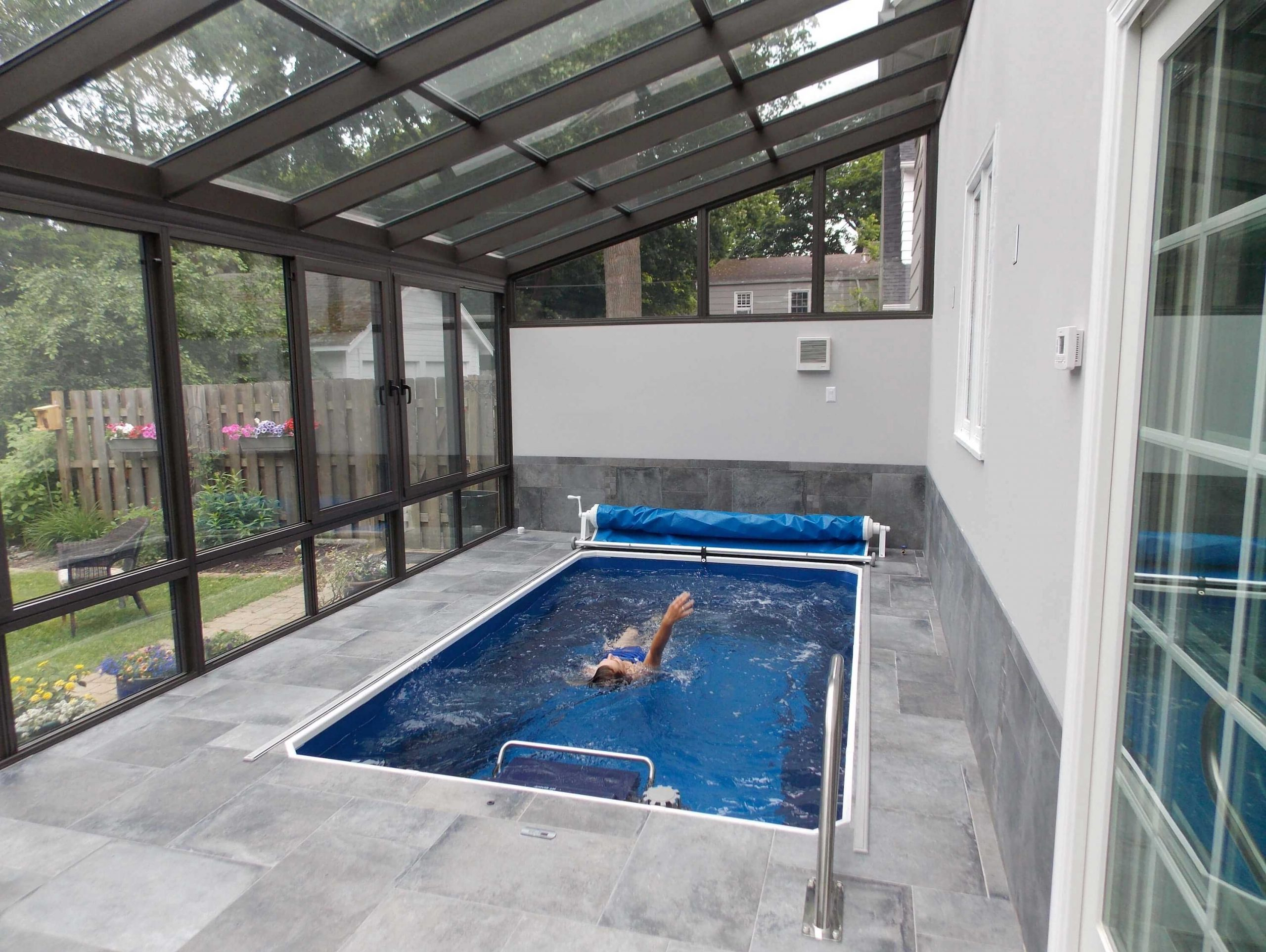Rectangular Above Ground Swimming Pools Ideas To Decorate Your Backyard | Roy Home Design
