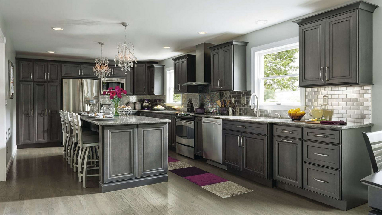 ash-wood-espresso-madison-door-gray-stained-kitchen-cabinets-gray-stained-kitchen-cabinets-Espresso-Kitchen-Cabinets