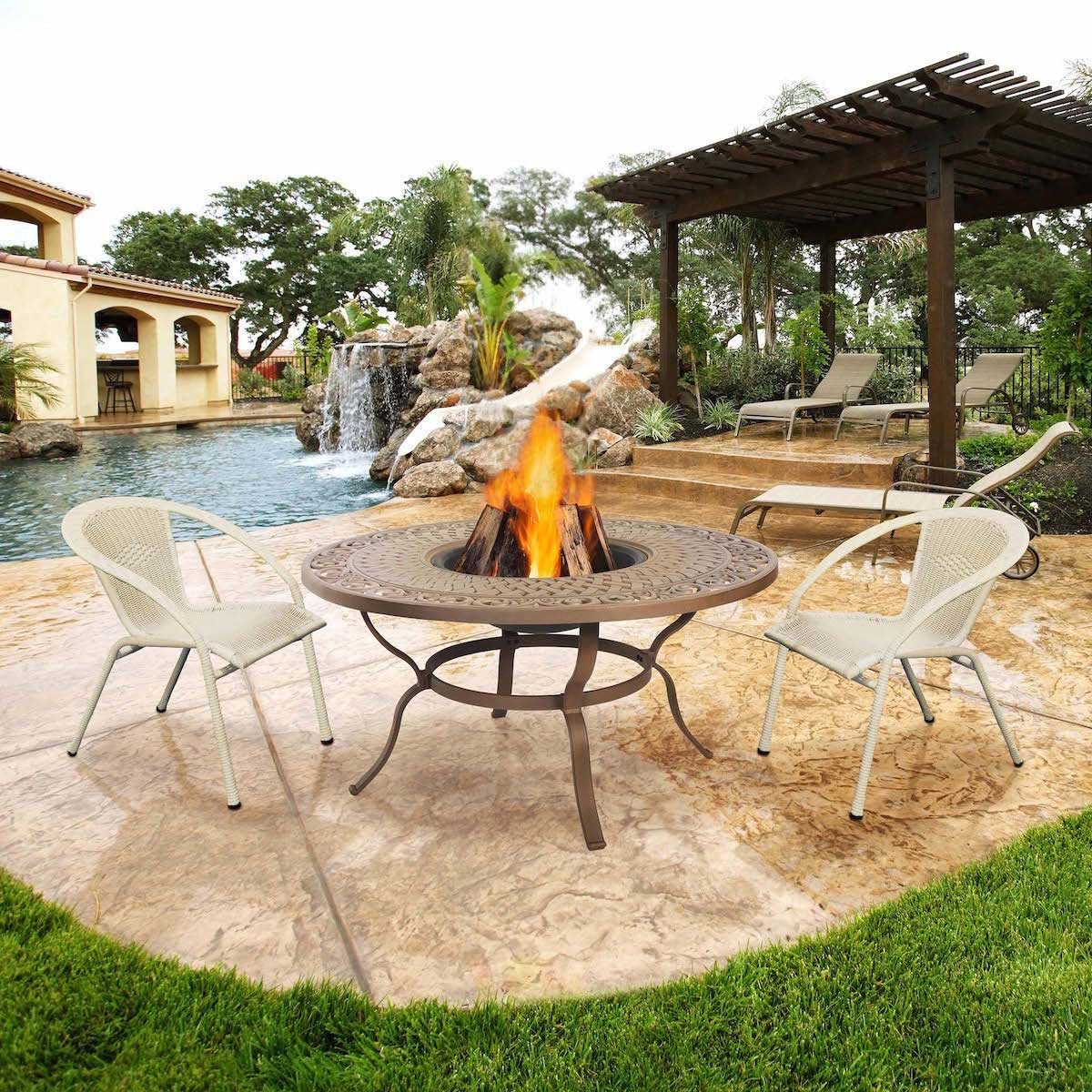 Understanding The Spindle Or Buc ee's Fire Pits That Great For Outdoor Terrace | Roy Home Design