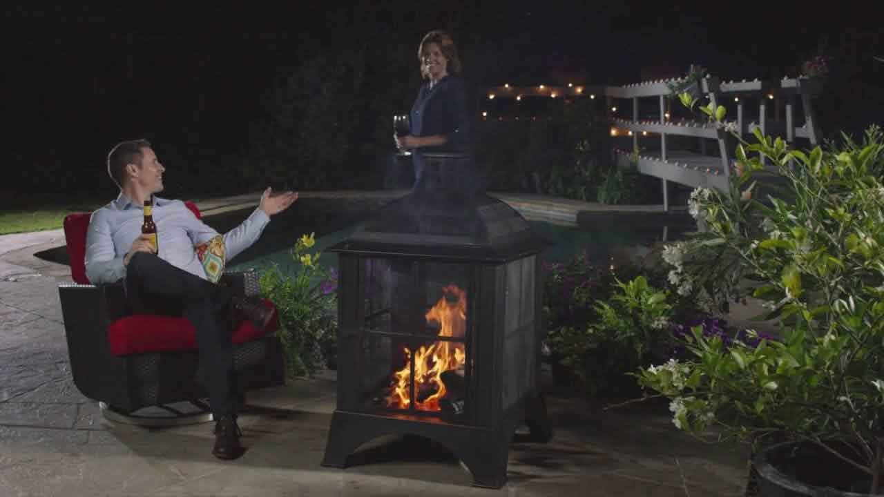 Unique Design of Fireplaces from Chiminea Walmart to Warm Your Outdoor Party | Roy Home Design