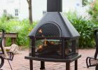 enclosed fire pit with chimney how to build a wood burning fire pit