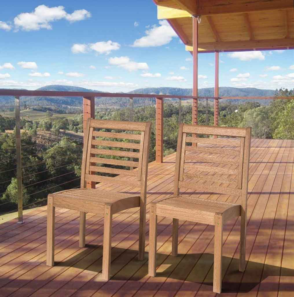 Eucalyptus Patio Furniture One Of The Best Outdoor Wood Collections You Should Know | Roy Home Design