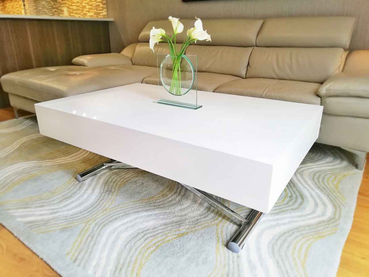 Four Functions of Using Expandable Coffee Table in Your House | Roy Home Design