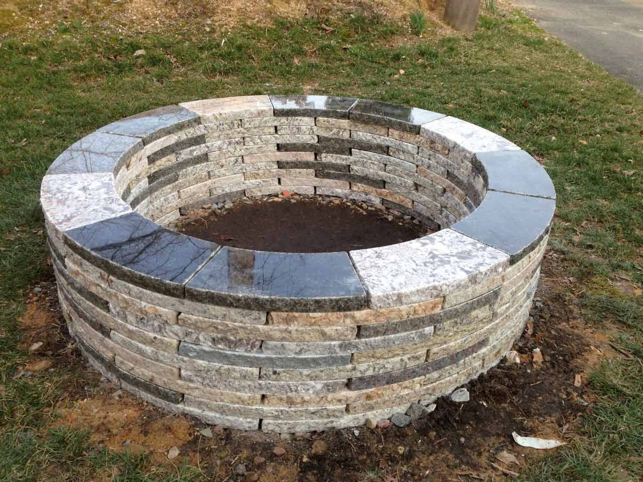fire pit kit instructions-fire pits near me-cool fire pits-round patio kit with fire pit