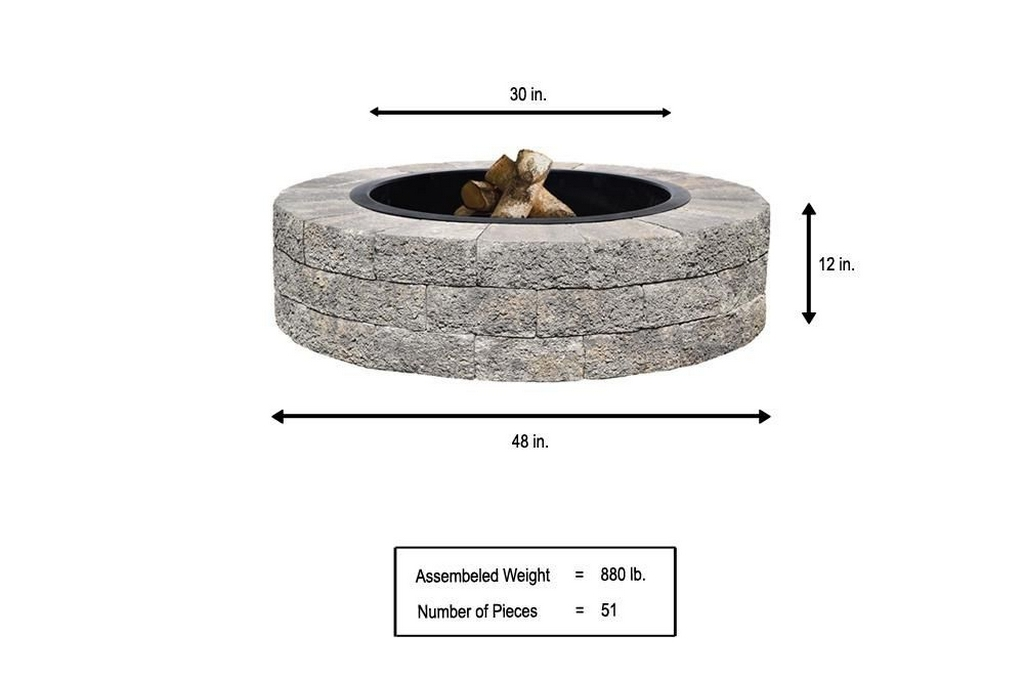 fire pit kit instructions-how to build a fire pit with bricksbest fire pit under $200