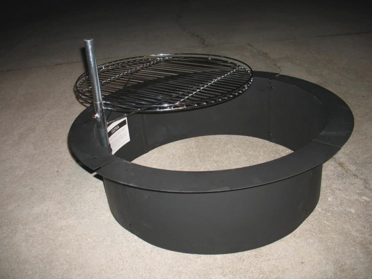 fire pit kits diy-popular-steel-fire-pit-insert-appealing-48-ring-designing-metal-fire-pit-burner-ring-home-depot
