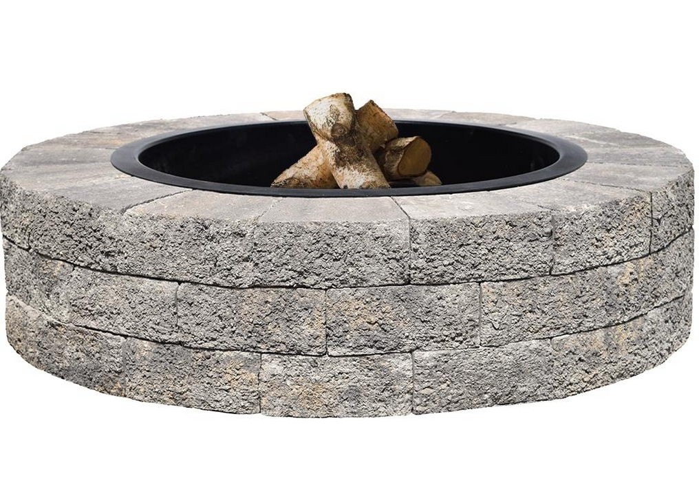 gray-oldcastle-fire-pit-kits-countryside® fire pit kit-camping fire pit