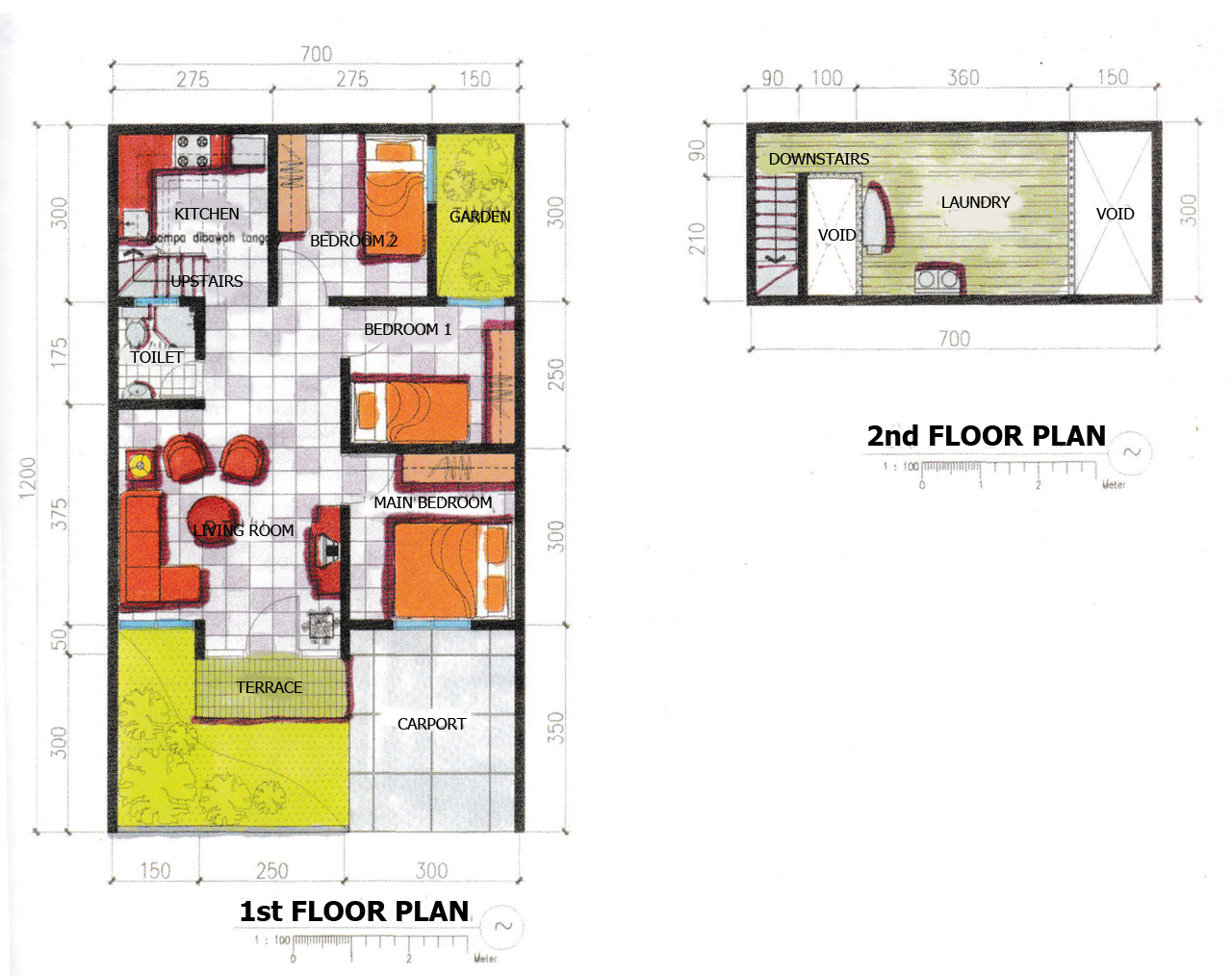 Small House Floor Plan Design in Modern House Architecture | Roy Home Design