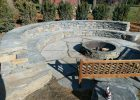 how to make a fire pit patio set with fire pit round patio kit with fire pit