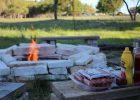 in ground fire pit and seating build your own fire pit in ground fire pit cost