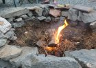 making an in ground fire pit brick fire pit ideas backyard in ground fire pit ideas