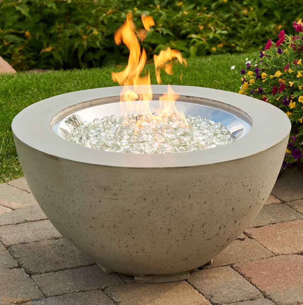 4 Design of Outdoor Natural Gas Fire Pit Inspiration | Roy Home Design