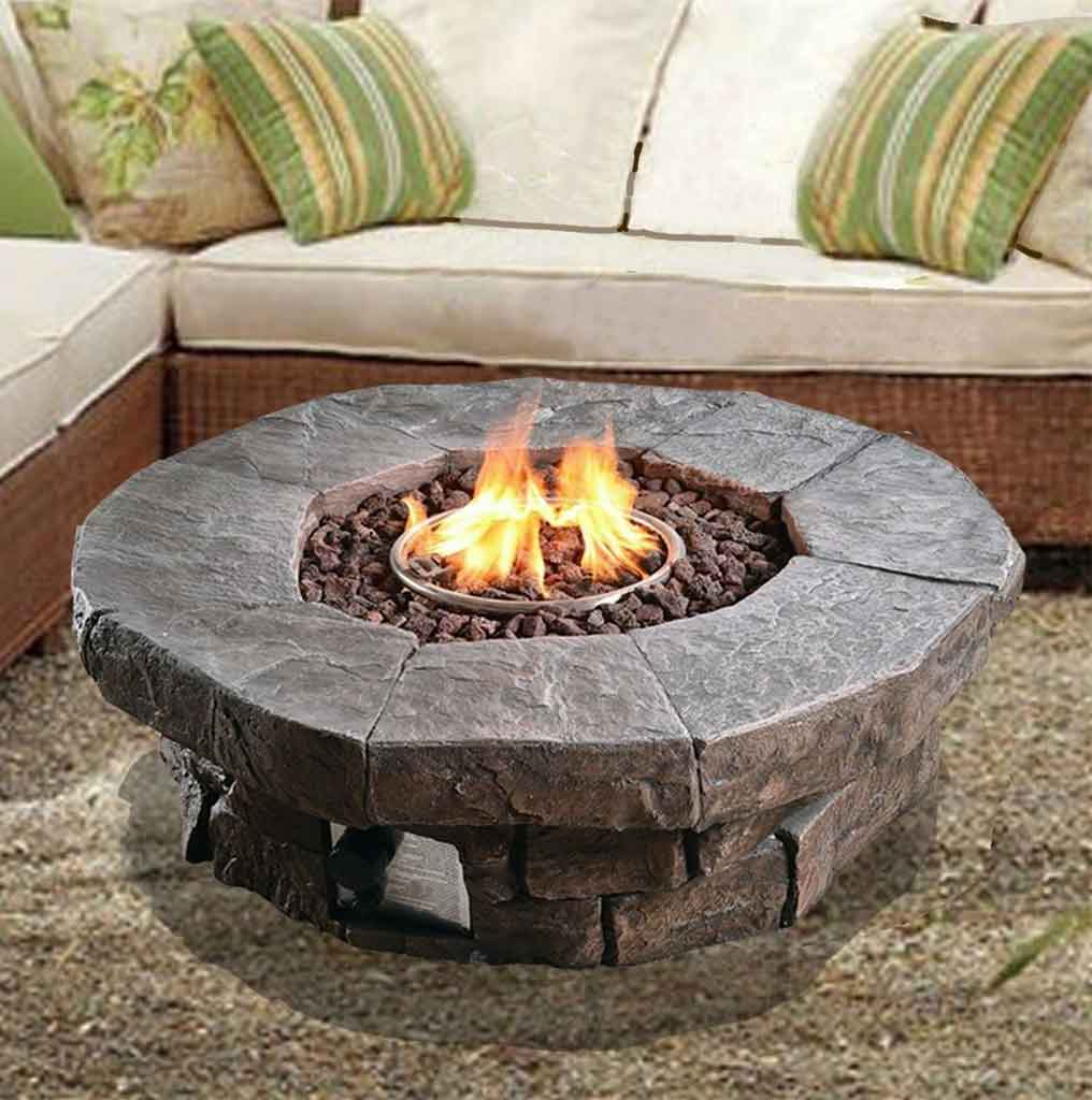Get to Know Types of Round Propane Fire Pit | Roy Home Design
