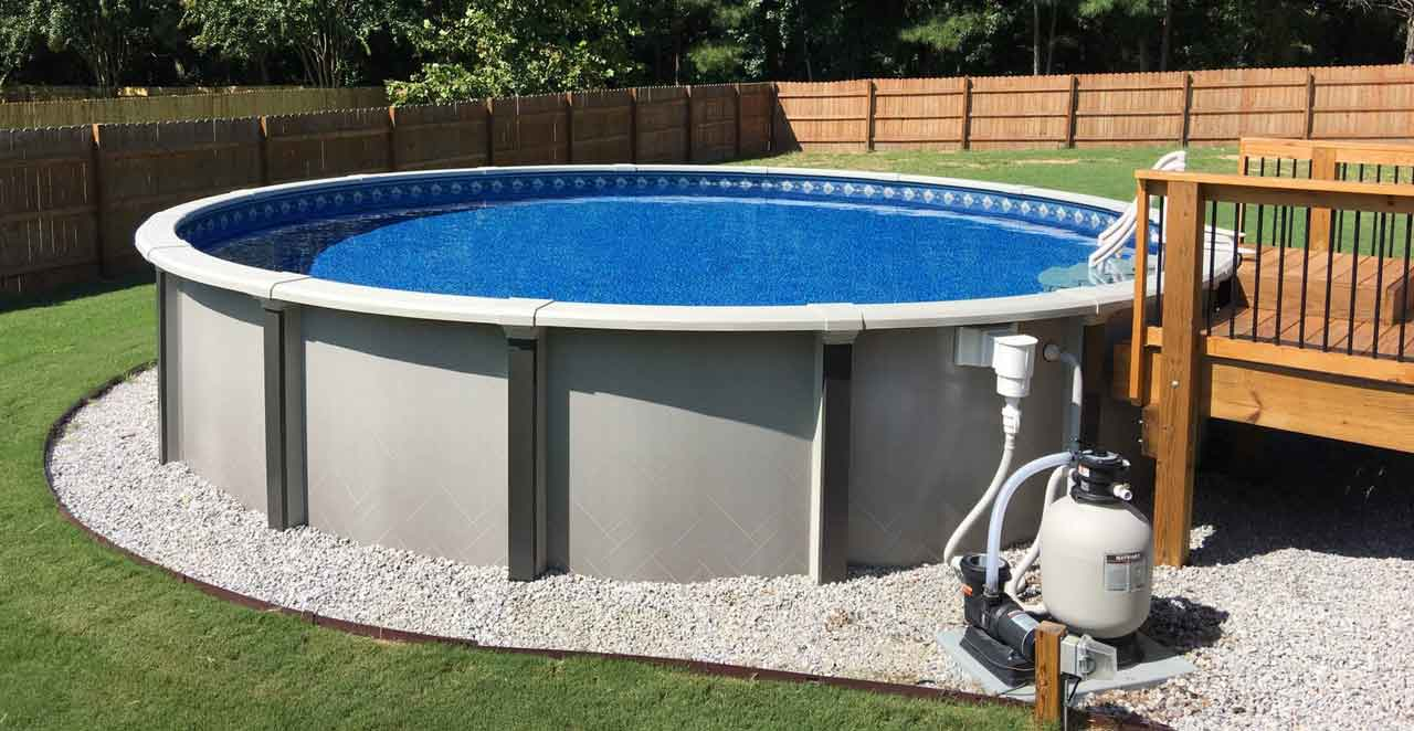 The Advantages Of Above Ground Saltwater Swimming Pools | Roy Home Design