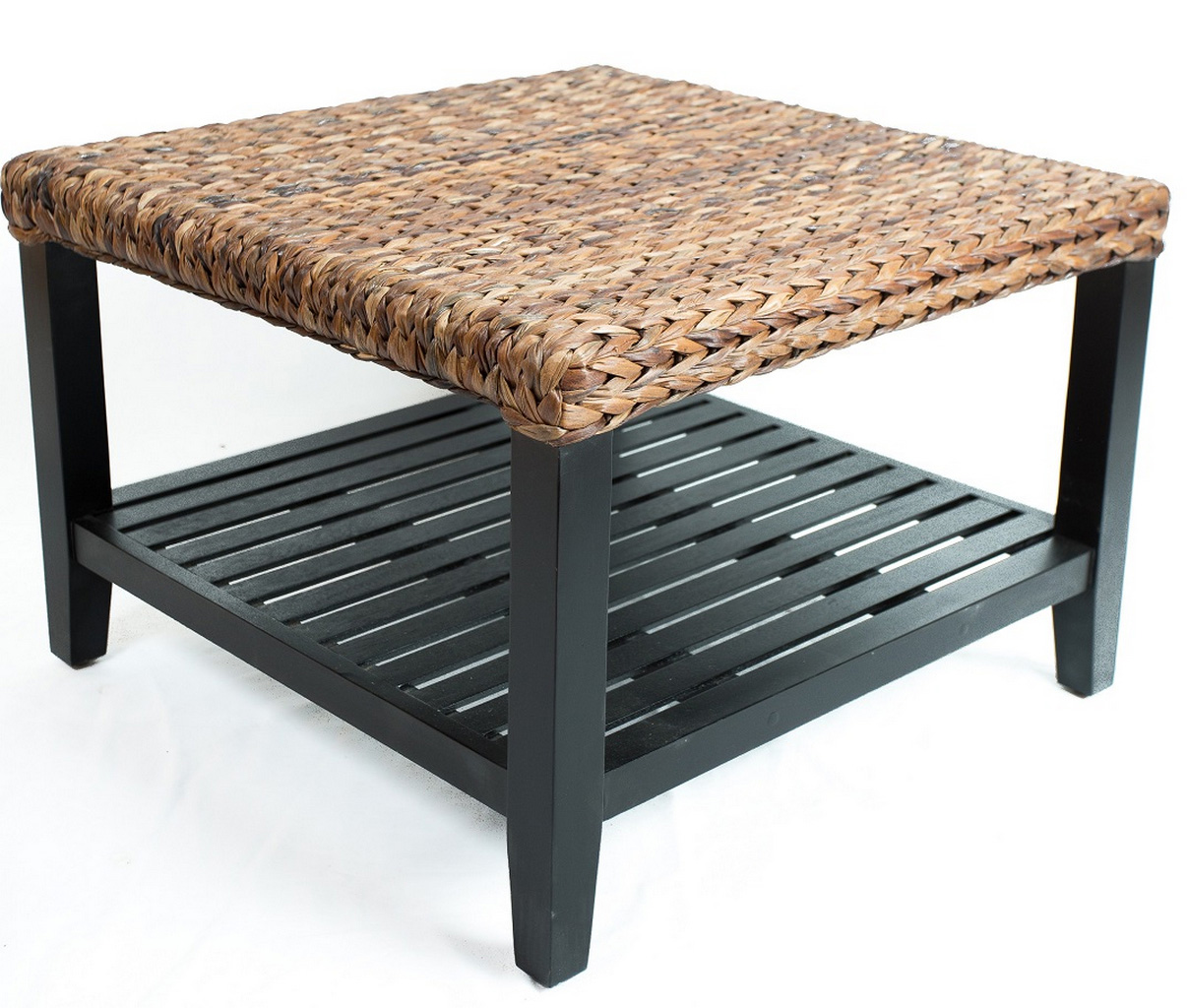 seagrass coffee table ottoman-Cool-Seagrass-Coffee-Table