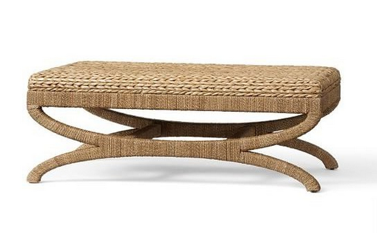 seagrass coffee table ottoman-seagrass-ottomans