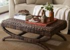 seagrass coffee table ottoman seagrass side table ottoman