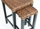 seagrass end table nesting tables
