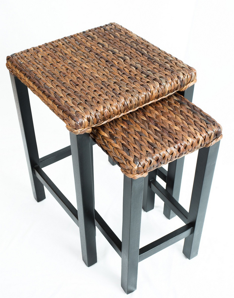 seagrass end table-nesting tables