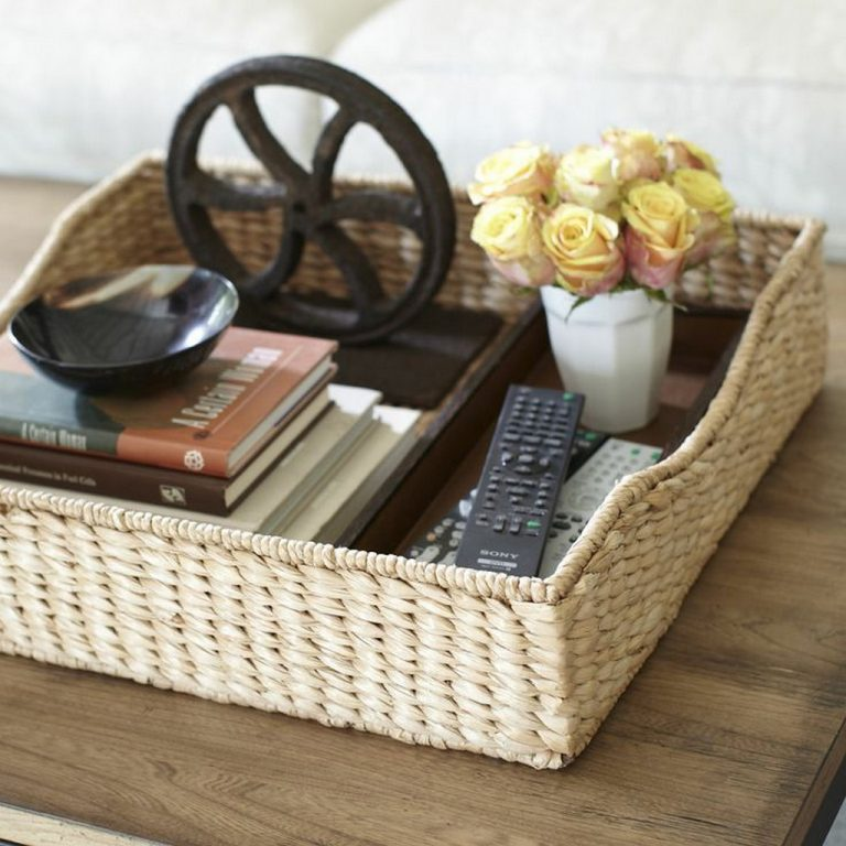 seagrass furniture-woven seagrass coffee table