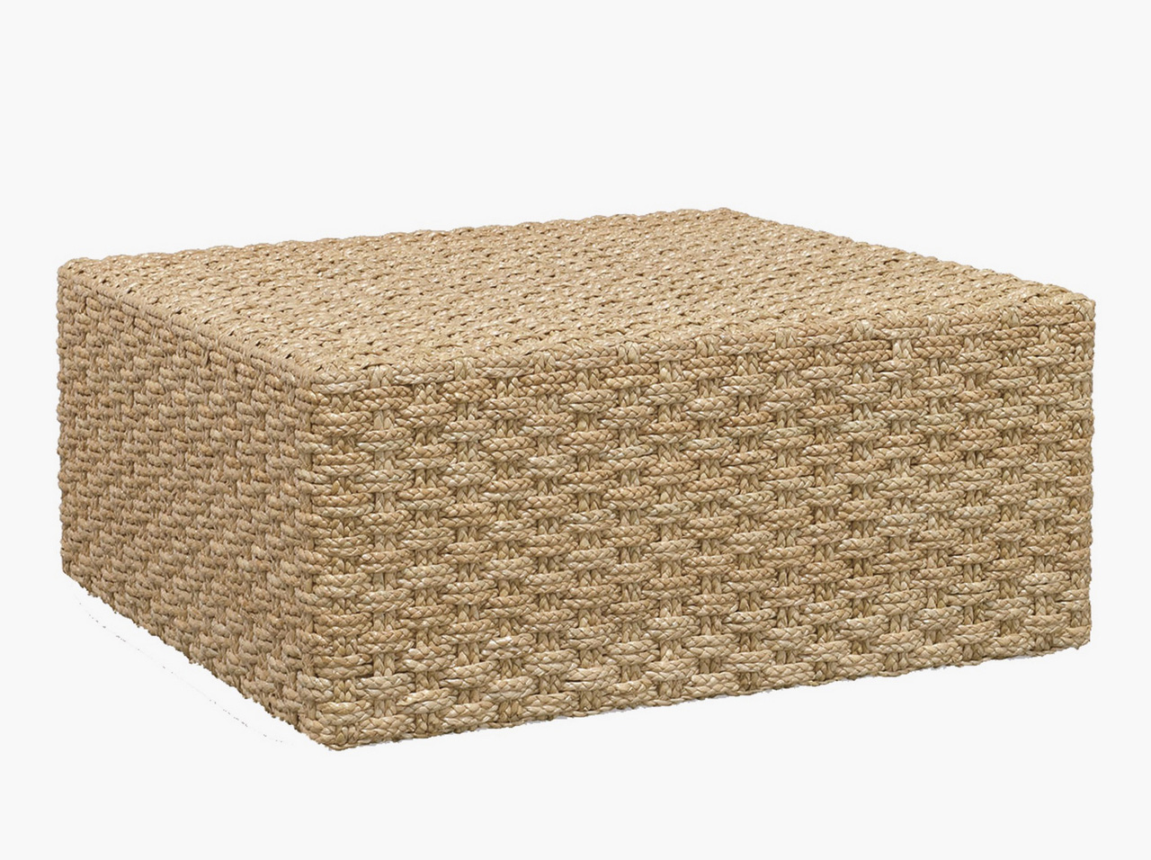 seagrass ottoman square-Grove-Coffee-Table