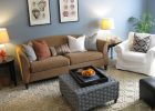 seagrass ottoman square seagrass coffee table Living Room Eclectic with none