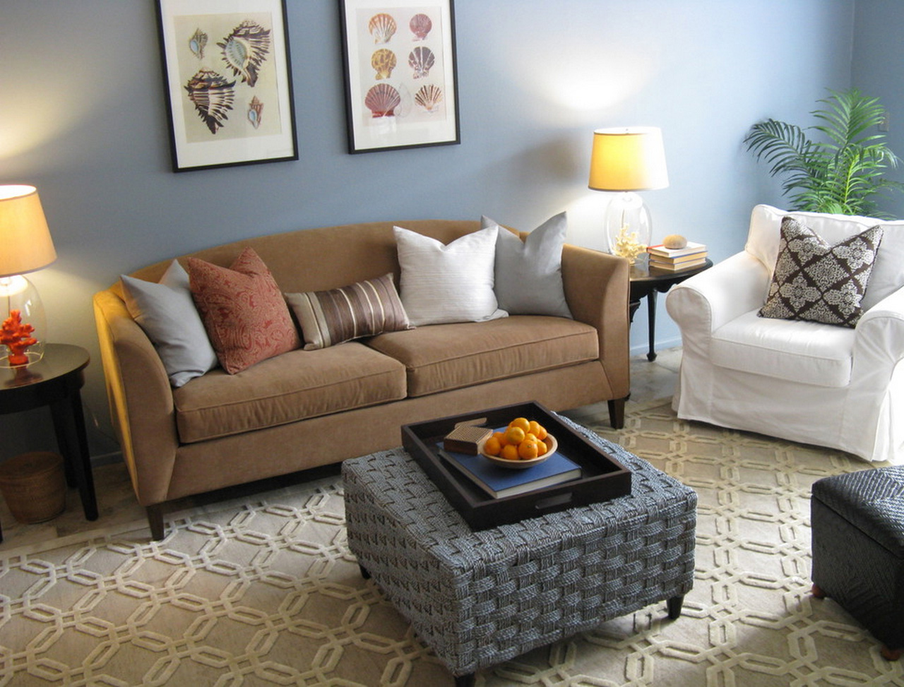seagrass ottoman square-seagrass-coffee-table-Living-Room-Eclectic-with-none-