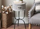 small round accent tablecloth small round metal accent table