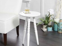 The Benefit of Using Small Round Accent Table in Small Space | Roy Home Design