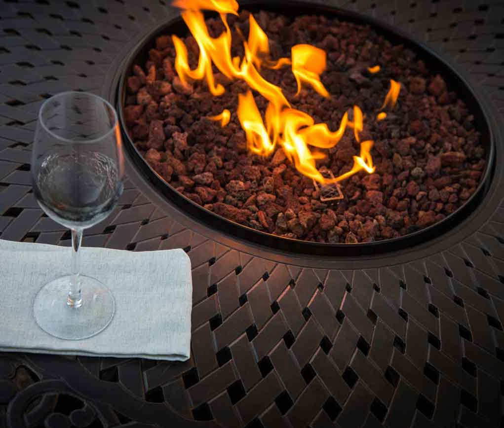 Four Best Types of Fuel for Backyard Fire Pit on Wheels You'll Love | Roy Home Desgin