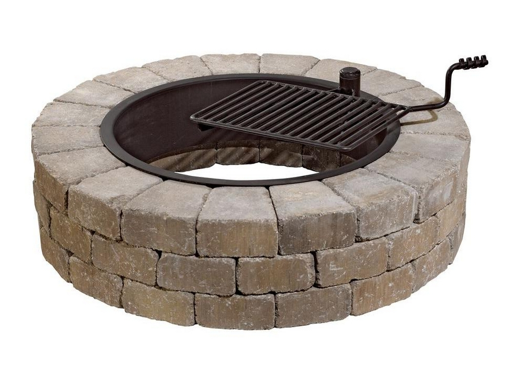 wood burning stone fire pit kit-fire-pit-kits-fire pits for sale near me