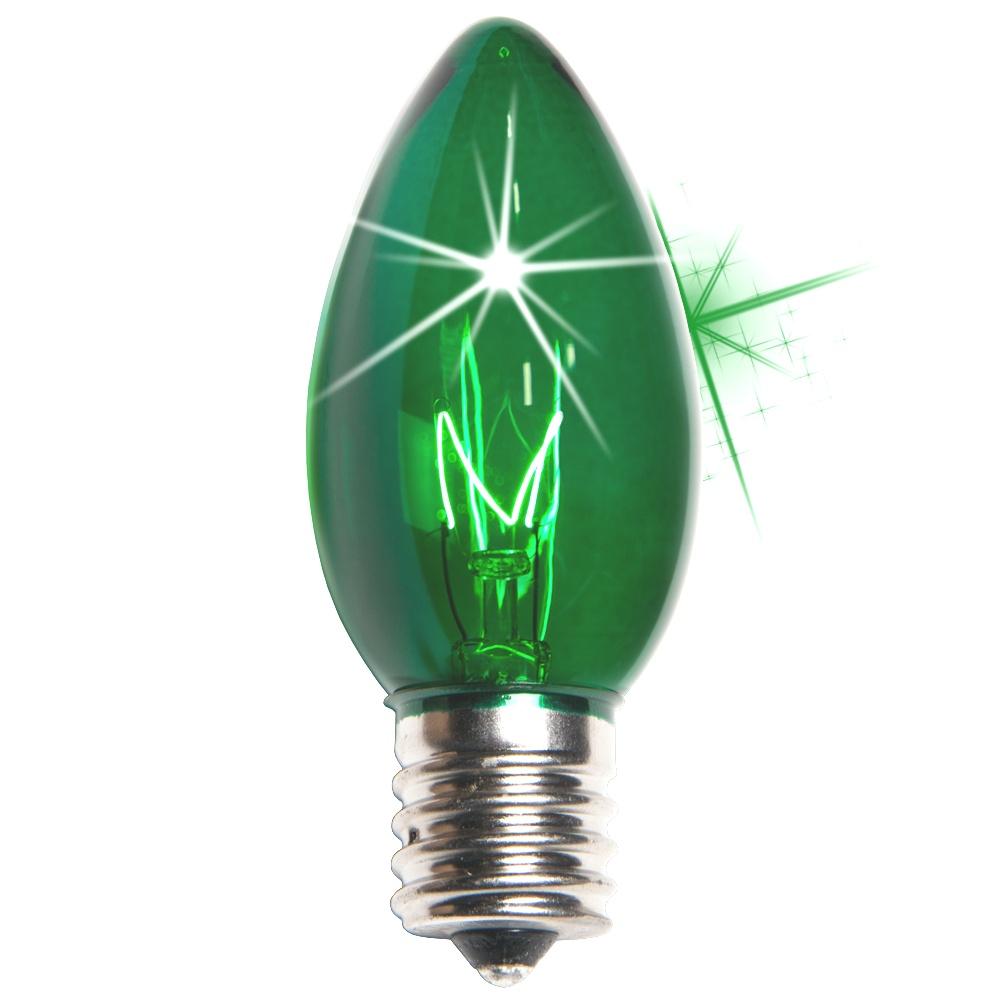 Christmas Light Replacement Bulbs   C9 Color Change Red LED Christmas Light Bulbs   Christmas Light Replacement Bulbs
