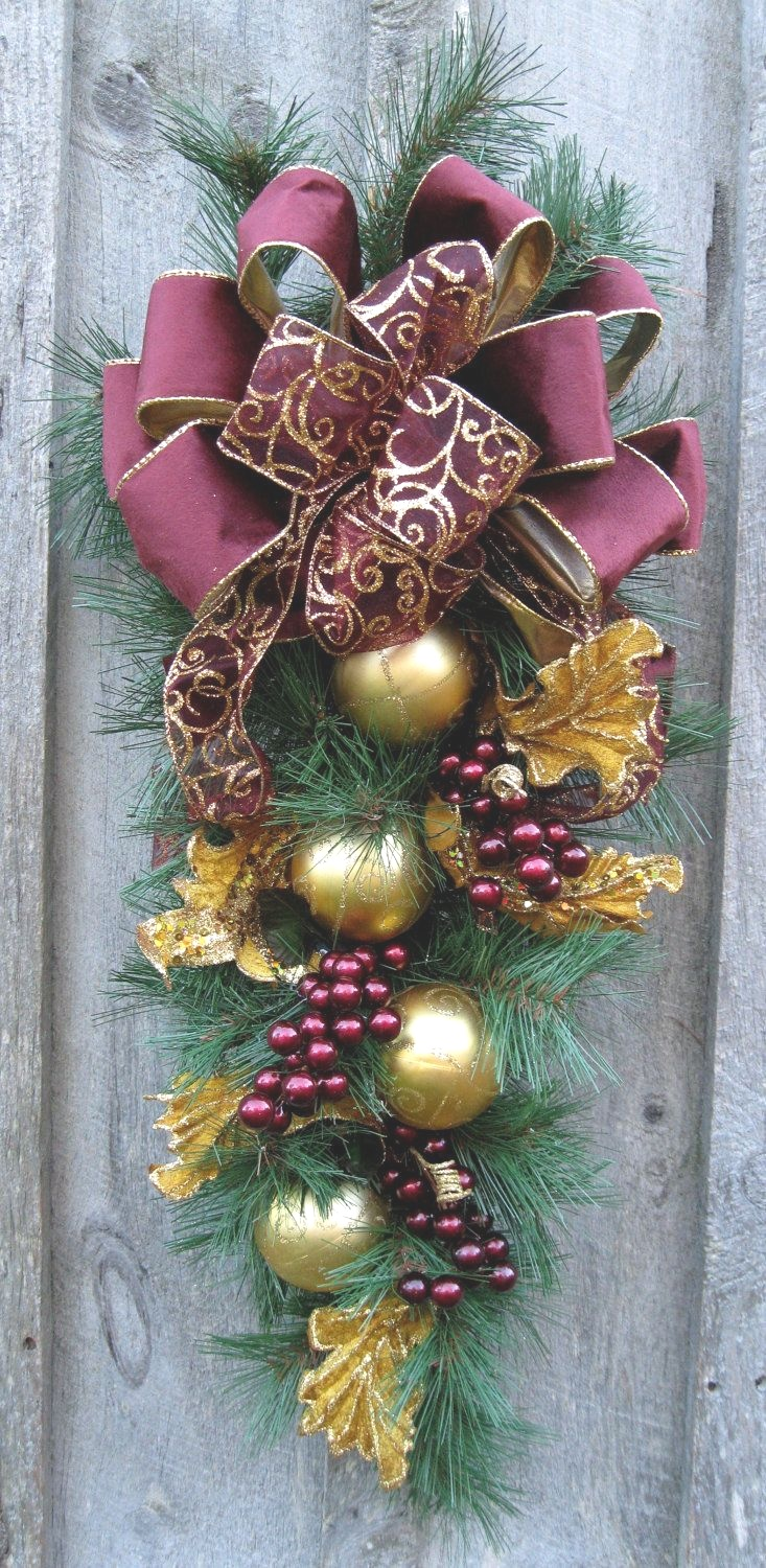 What you should wear to christmas swags for roy home design christmas swags for doors big front doors teardrop wreath christmas wreath door wreath rubansaba