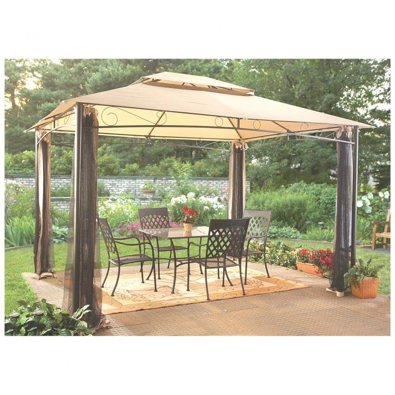 CASTLECREEK ™ 10x12' Classic Garden Gazebo offers portable shade