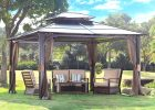 Amazon.com : 10 x 12 Chatham Steel Hardtop Gazebo : Patio, Lawn ..