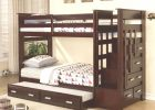 Twin Over Twin Allentown Espresso Storage Bunk Bed with Trundle ..