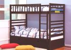 Allentown Twin Over Twin Bunk Bed Espresso   Bedroom Furniture | Allentown Twin Over Twin Bunk Bed Espresso