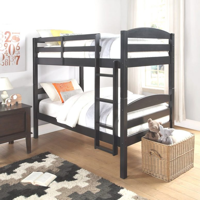 Bunk Beds Twin Over Twin Bunk Bed With Slide Allentown Twin Over