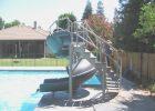 Vortex Pool Slide | Pools For Home | Used Swimming Pool Slides