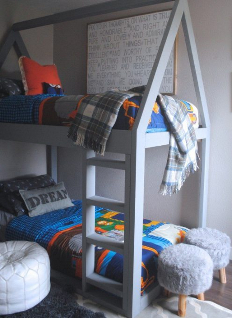 twin bunk beds for kids-twin bunk beds for boys-twin bunk bed frame
